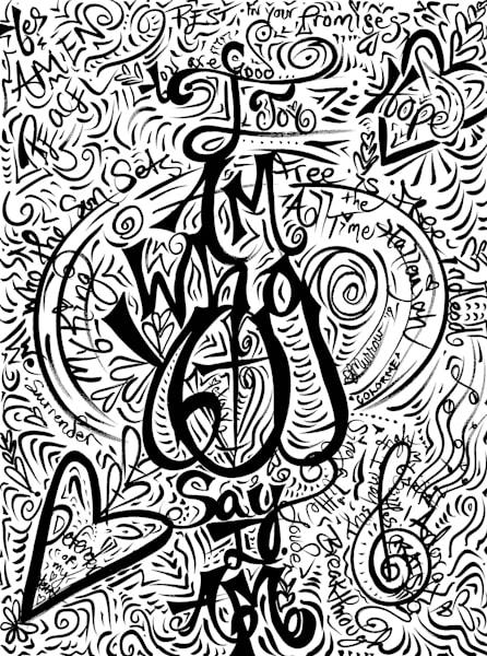 I Am What You Say I Am Art | COLORME Art Spa