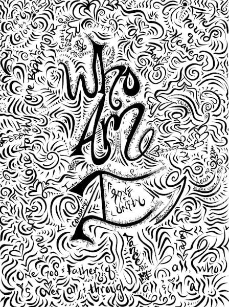 Who Am I? Art | COLORME Art Spa