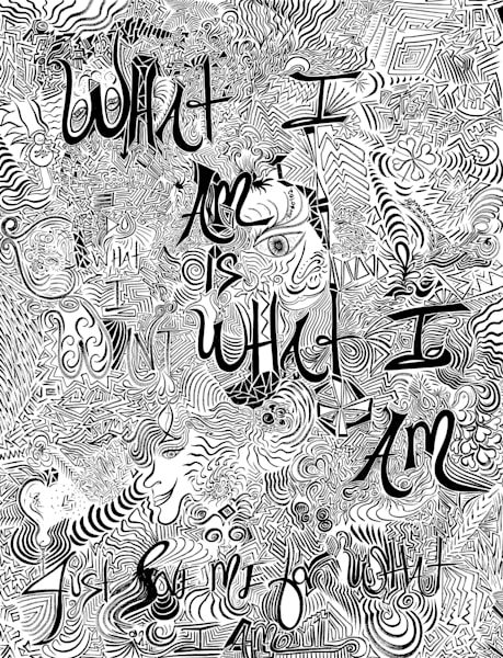 What I Am Is What I Am Art | COLORME Art Spa