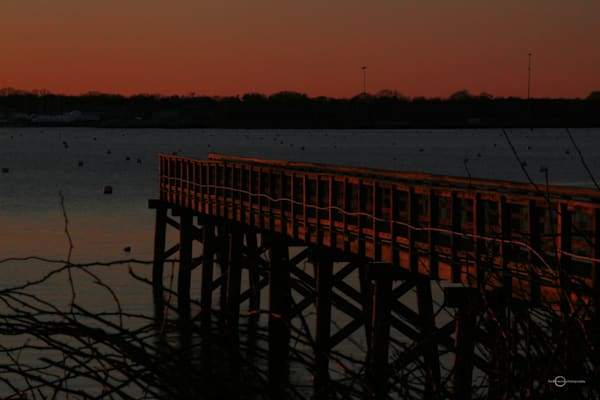 Sunset On Stranski Dock Art   Fred Marco Photography