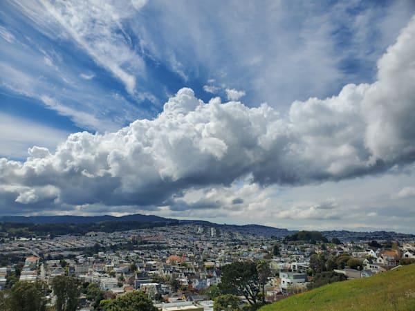 View From Bernal Heights Hill Photography Art | David Louis Klein