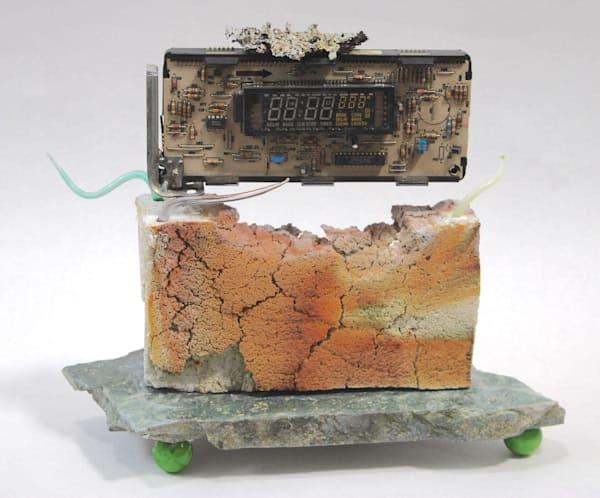 Chaos#8 Meltdown #3, Digital Disintegration | Ed Pennebaker, Red Fern Glass