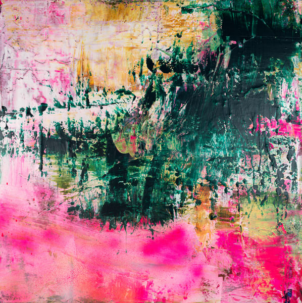 I Lie Beneath Her Soft Petals Pink Against My Cheek  Art | Éadaoin Glynn