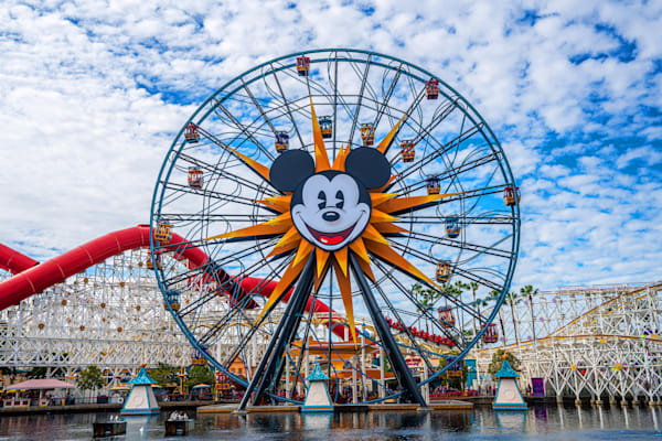 Mickey Fun Wheel At California Adventure Photography Art | William Drew Photography