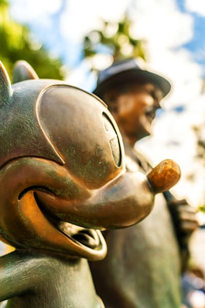 Mickey Mouse Storytellers Statue Photography Art | William Drew Photography