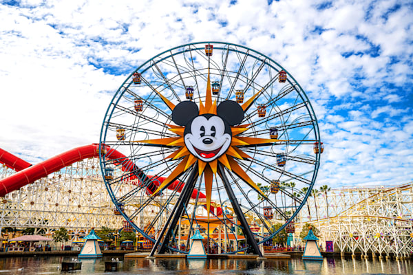 Mickey Fun Wheel Photography Art | William Drew Photography