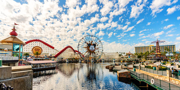 Pixar Pier At Disneyland California Photography Art | William Drew Photography