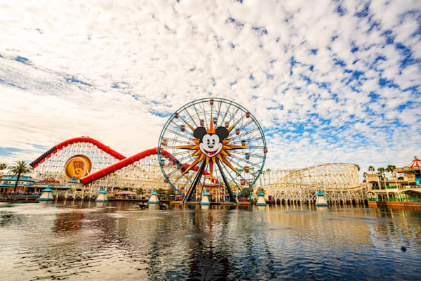 Pixar Pier Photography Art | William Drew Photography