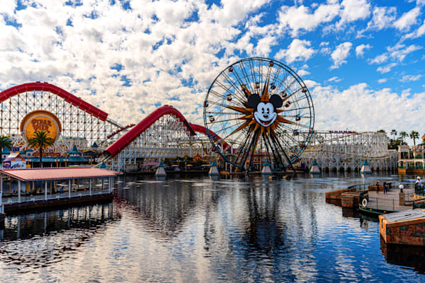 The Incredicoaster At California Adventure Photography Art | William Drew Photography