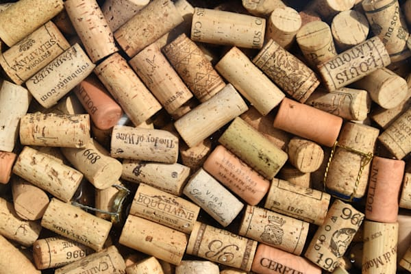Corks Of Olympia Way by Keith R Wahl, Made From RI Gallery