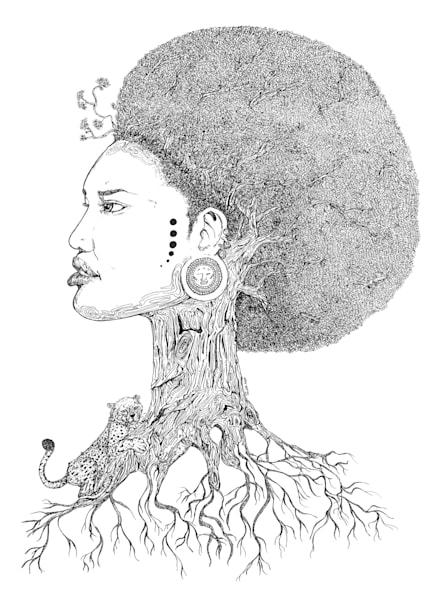 Roots Of Civilization I (Sold) Art | thomaselockhart