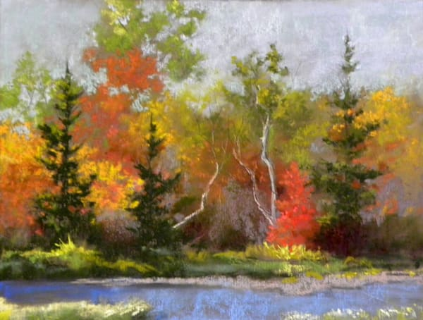 Autumnal, From an Original Oil Painting
