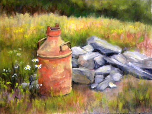Seen Better Days, From an Original Oil Painting
