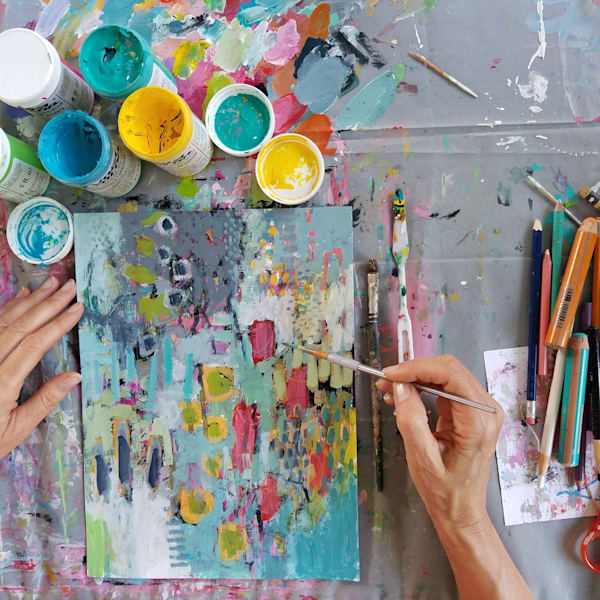 Paint With Betty   March 28, 2020 Live Session | Betty Franks Art