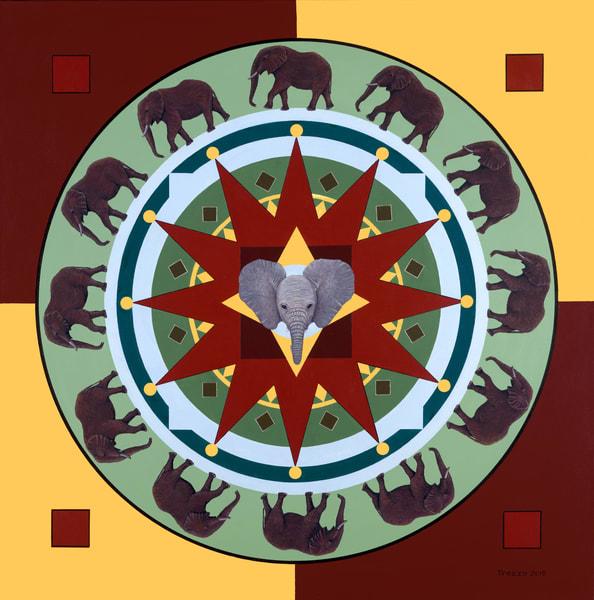 trozzo-Elephant-Mandala