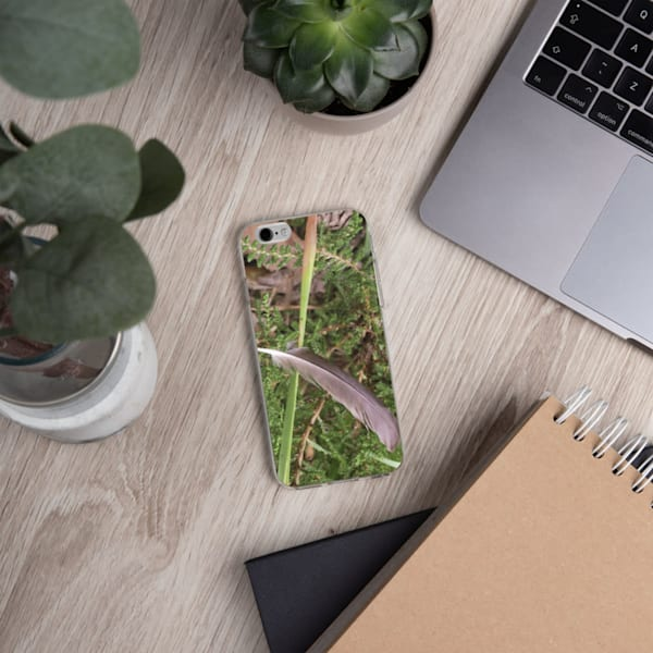 """""""Still Life With Floating Feather"""" iPhone Case"""