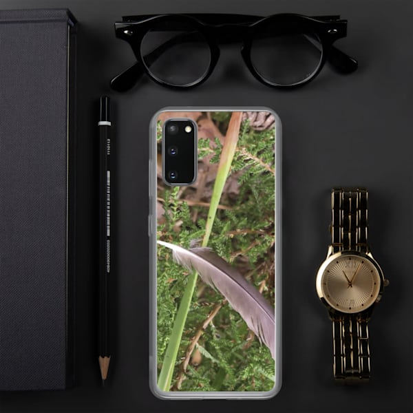 """""""Still Life With Floating Feather"""" Samsung Case"""
