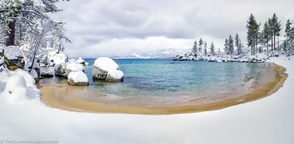 Sand Harbor Lake Tahoe Photograph