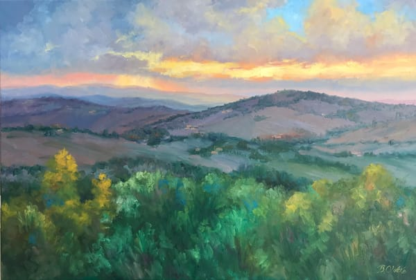 Dreams Of Tuscany Art | B. Oliver, Art