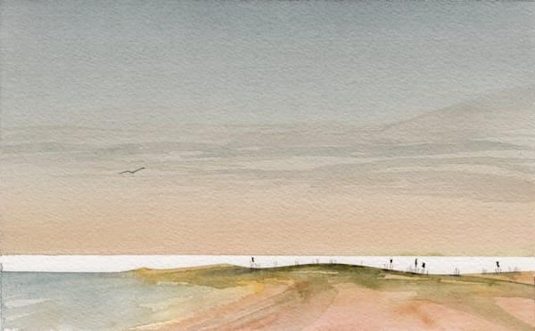 Solo Sunset Art | the | danfinnell | studio