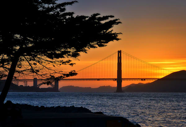 Golden Gate Sunset Photography Art | Studio 221 Photography