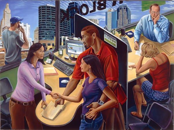 H R Bloc Kpresent Art | David Spear