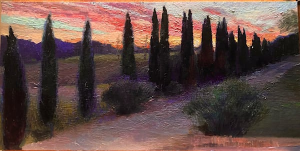 Sunset At The Chateau Art | Fountainhead Gallery