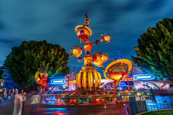 Astro Orbiter And Tomorrowland Photography Art | William Drew Photography