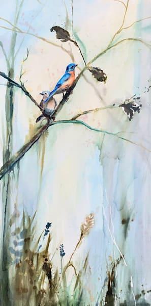 Blue Birds 24 x 36