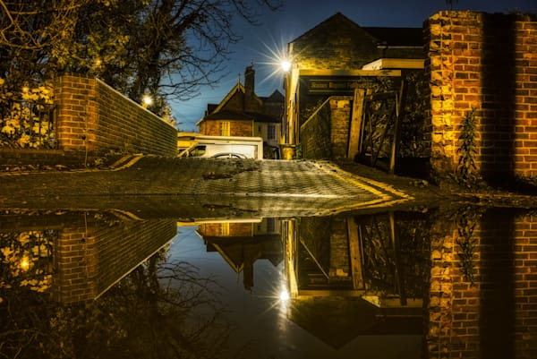 Not A Baptism Puddle Photography Art | Martin Geddes Photography