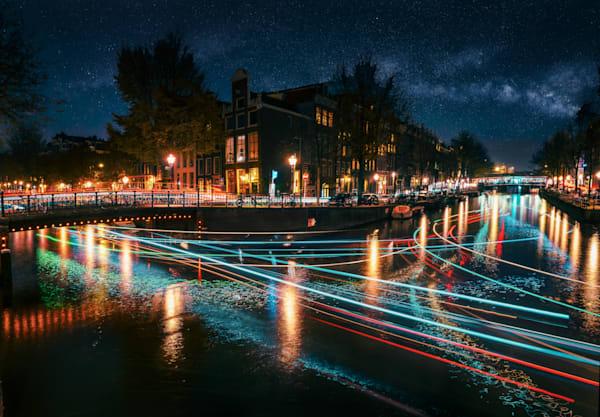 Matej Silecky Amsterdam Night Photography