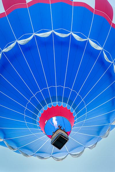 Photography By Festine blue hot air balloon