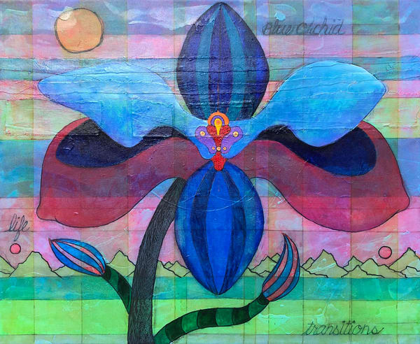 Blue Orchid: Life Transitions