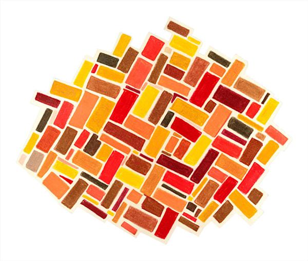 """Data Card"" fine art print by Ann Kralapp."