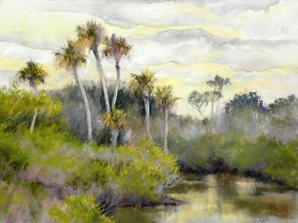 Twilight Merritt Island, From an Original Oil Painting