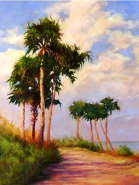 Bio Lab Road, From an Original Oil Painting