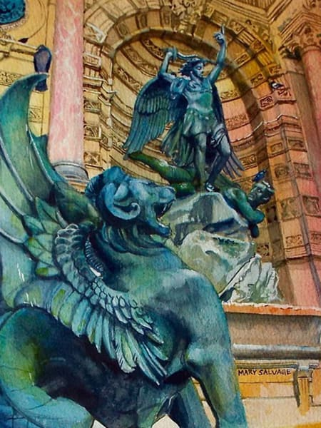 Fontaine Saint Michel Paris