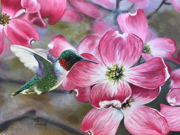 Let The Dogwoods Bloom Art | alanajudahart
