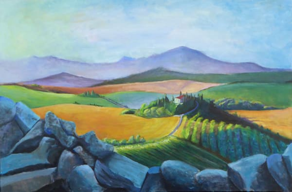 Italian Landscape Art | Limor Dekel Fine Art