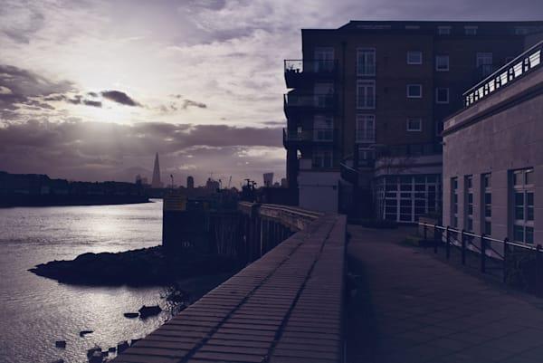 Sunshine Over The Shard Photography Art | Martin Geddes Photography