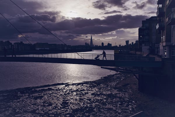 Low Tide At Limehouse Art | Martin Geddes Photography