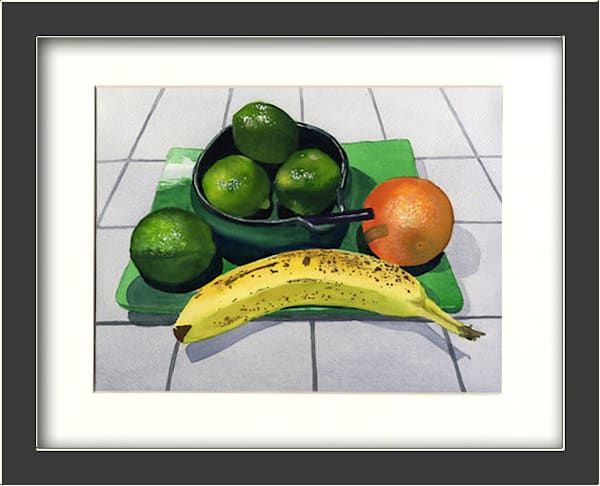 Green Plate Special Summer Fruit Original Fine Art
