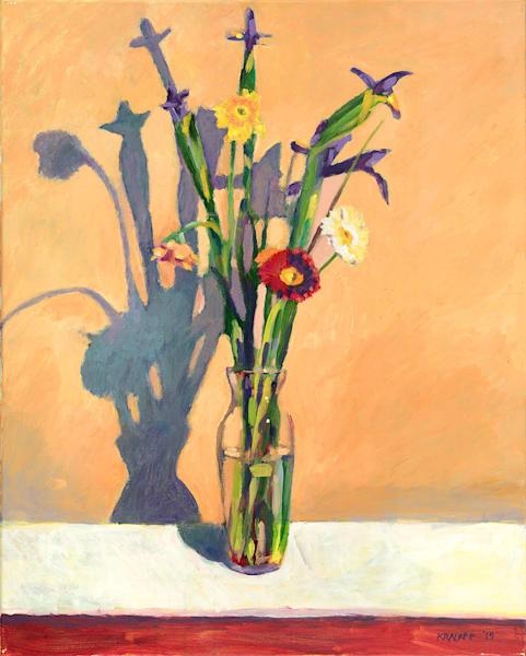 """Russian Irises"" fine art print by Karl Kralapp."
