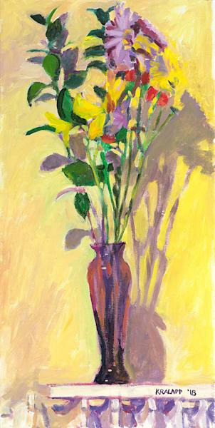 """BNB Purple Vase"" fine art print by Karl Kralapp."