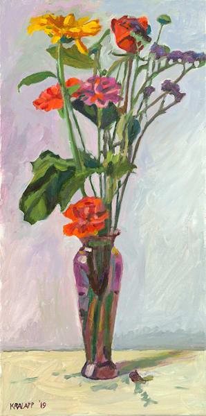 """""""Fallen Purple Pencil"""" fine art print by Karl Kralapp."""