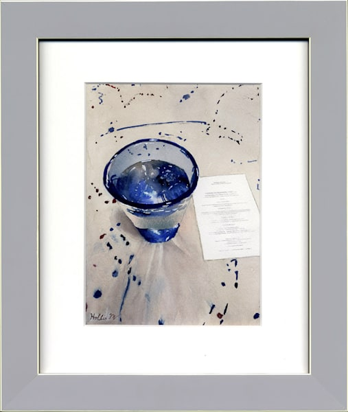 Menu Of Blue Art | Machalarts Watercolor Studio