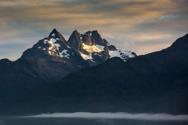 Glacier Bay Sunset Photography Art | Leiken Photography