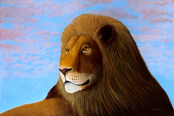Lion  Art | Frank Trozzo