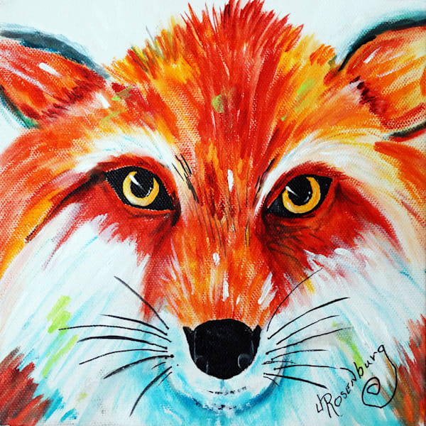 J Rosenburg   Bright Eyed Fox Art | Branson West Art Gallery - Mary Phillip