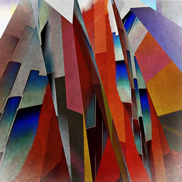 Coloured Mountain Art | Maciek Peter Kozlowski Art